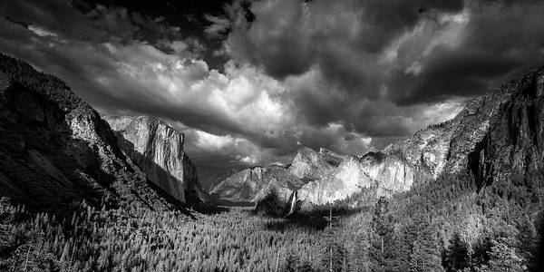 Wall Art - Photograph - Tunnel View Panorama by Andrew Soundarajan