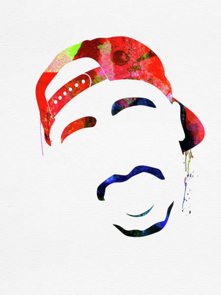 Rap Mixed Media - Tupac Watercolor by Naxart Studio
