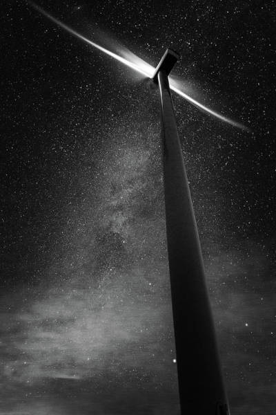 Wall Art - Photograph - Turbine Nights by Cat Connor