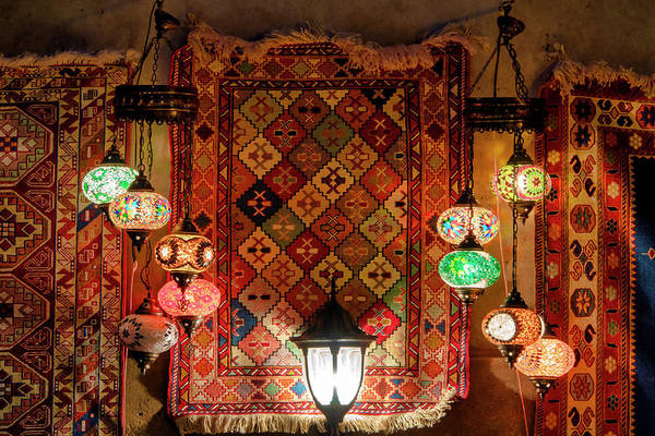 Photograph - Turkish Lamps In Icheri Sheher by Fabrizio Troiani
