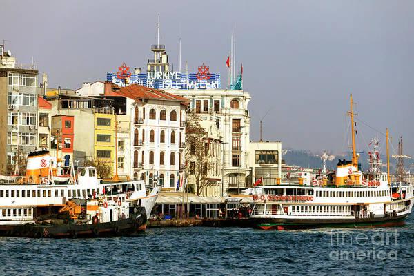 Turkiye Wall Art - Photograph - Turkiye Denizcilik Isletmeleri Istanbul by John Rizzuto