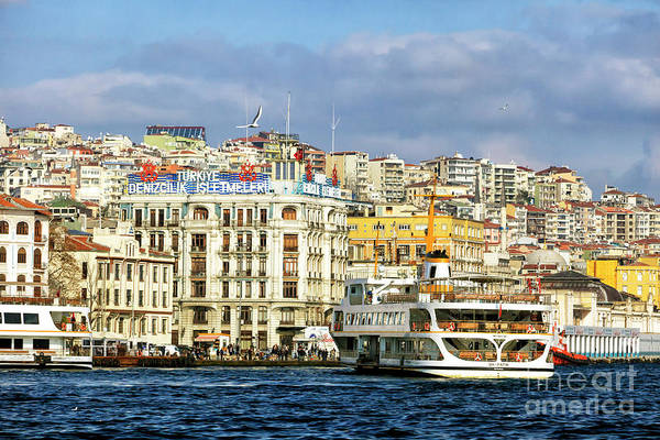 Turkiye Wall Art - Photograph - Turkiye On The Bosporus by John Rizzuto