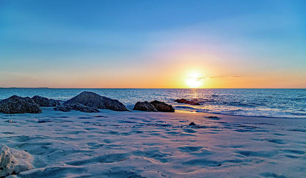 Wall Art - Photograph - Turks And Caicos Tranquil Sunset by Betsy Knapp