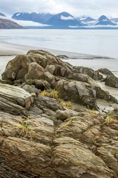 Photograph - Turnagain Ebb Tide by Tim Newton