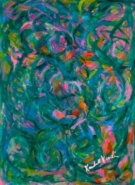 Painting - Turning Inward by Kendall Kessler