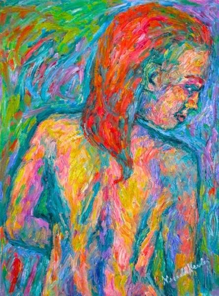 Painting - Turning  by Kendall Kessler