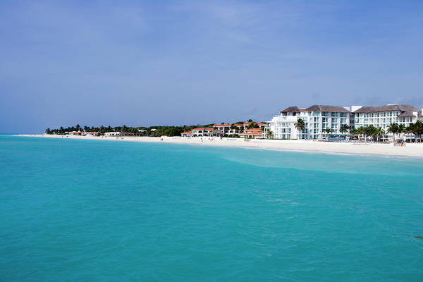 Mayan Riviera Photograph - Turquoise Caribbean Sea And Pristine by Holger Leue