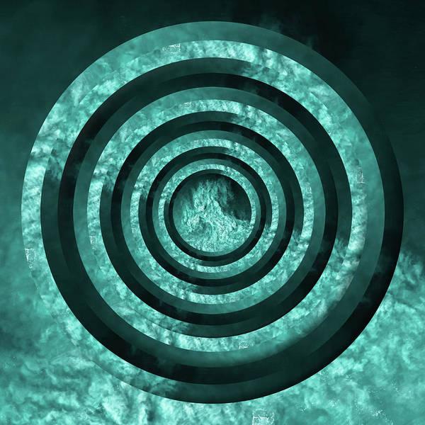 Wall Art - Photograph - Turquoise Crashing Waves Circles by Pelo Blanco Photo