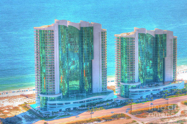 Photograph - Turquoise Place by Gulf Coast Aerials -