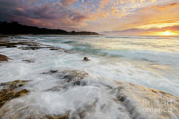 Wall Art - Photograph - Turtle Bay Sundown by Mike Dawson