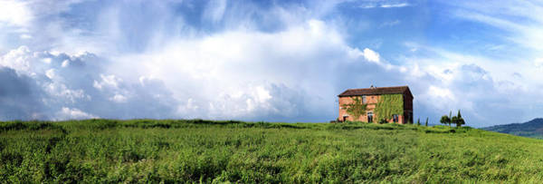 Tuscan Painting - Tuscan Farmhouse by Shelley Lake