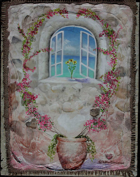 Painting - Tuscan Window by William T Templeton