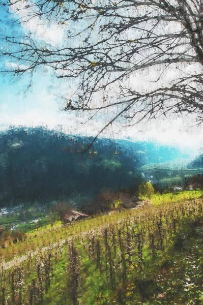 Painting - Tuscany Vineyards - 20 by Andrea Mazzocchetti