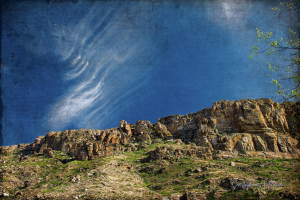 Tuscon Clouds Art Print