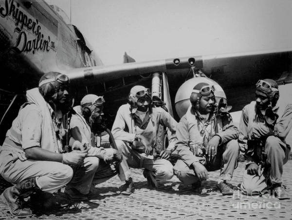 Wall Art - Photograph - Tuskegee Airmen, Ramitelli, Italy by Atlas Photo Archive