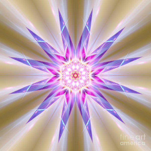 Digital Art - Twelve Points To Remember  by Rachel Hannah