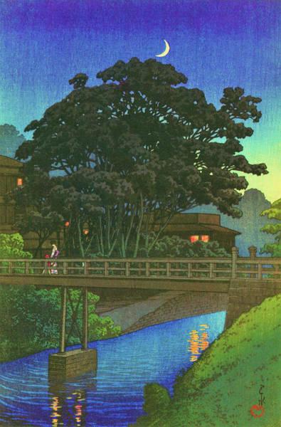 Wall Art - Painting - Twenty Views Of Tokyo, Takino River - Digital Remastered Edition by Kawase Hasui