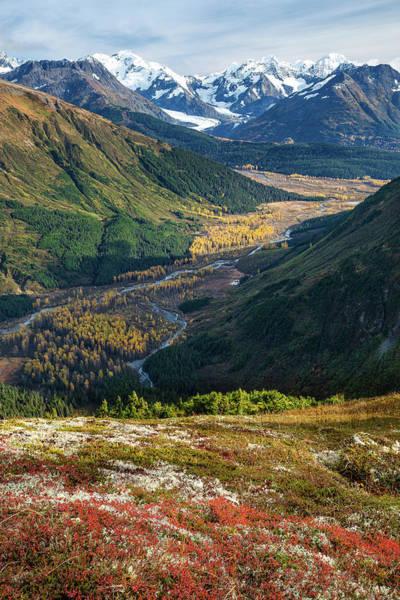 Photograph - Twentymile Glacier by Tim Newton