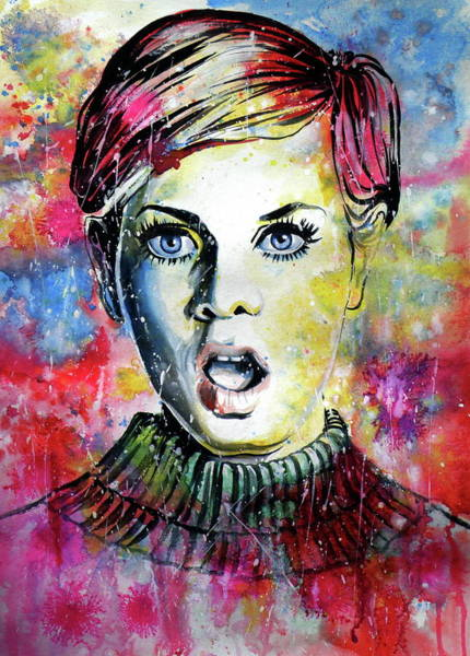 Wall Art - Painting - Twiggy II by Kovacs Anna Brigitta