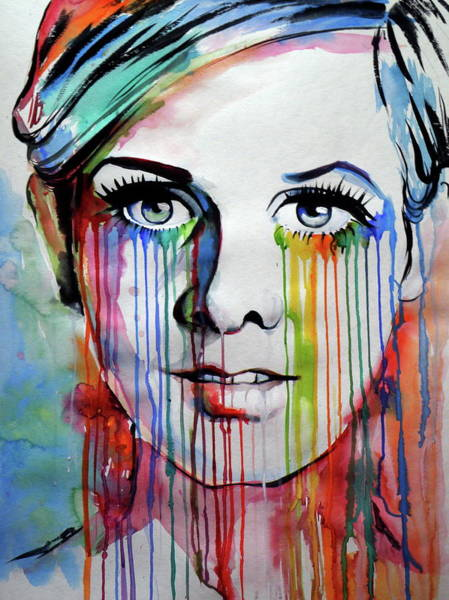 Wall Art - Painting - Twiggy IIi by Kovacs Anna Brigitta