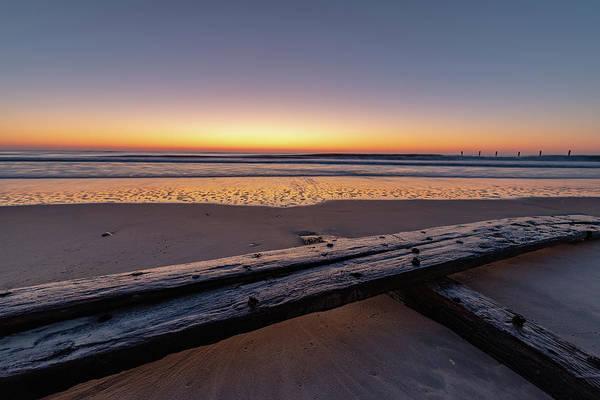 Photograph - Twilight Assateague Island Shipwreck IIi by William Dickman