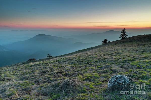 Wall Art - Photograph - Twilight At Marys Peak by Masako Metz