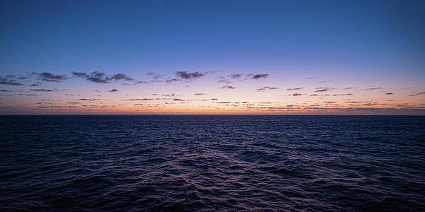 Photograph - Twilight At Sea II by William Dickman
