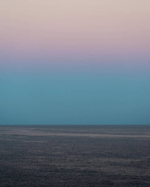 Photograph - Twilight At Sea by William Dickman