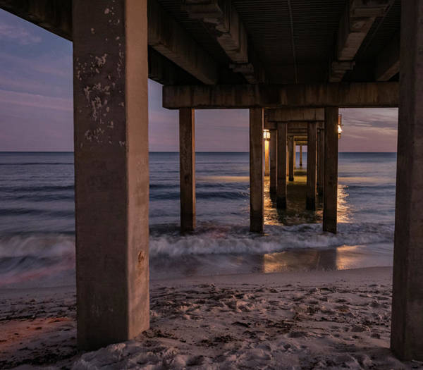Photograph - Twilight At The Pier by Jean Noren