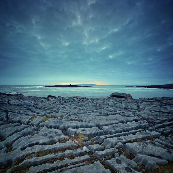 The Burren Photograph - Twilight At The Worlds End by Mammuth