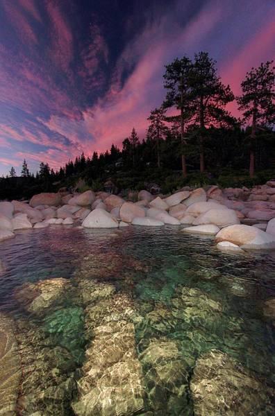 Photograph - Twilight Autumn by Sean Sarsfield