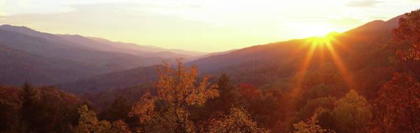 Wall Art - Photograph - Twilight, Cumberland Gap, Kentucky, Usa by Panoramic Images