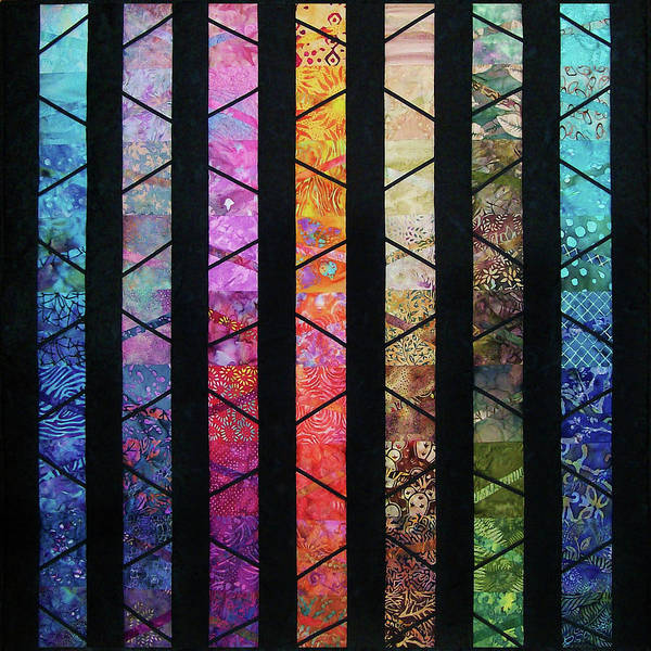 Tapestry - Textile - Twilight Descends by Pam Geisel
