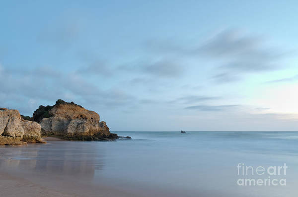 Photograph - Twilight In Chiringuitos Beach With Long Exposure by Angelo DeVal