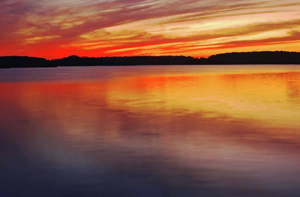 Photograph - Twilight On Assateague Bay, De by Bill Jonscher