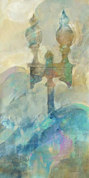 Wall Art - Painting - Twilight Paris by Albena Hristova