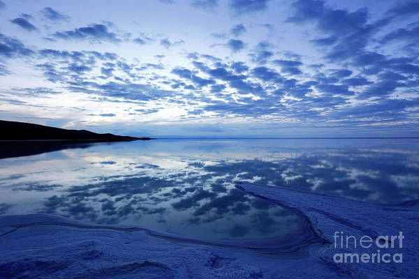 Photograph - Twilight Reflections Salar De Uyuni Bolivia by James Brunker