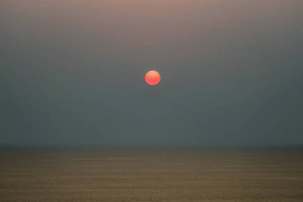 Photograph - Twilight Sunset At Sea by William Dickman