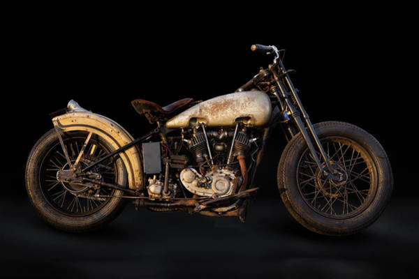 Wall Art - Photograph - Twin Cam Harley by Andy Romanoff