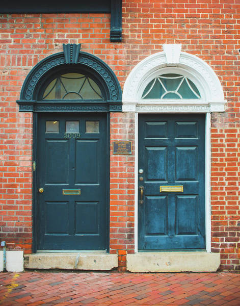 Wall Art - Photograph - Twin Doors In Georgetown by Sonja Quintero