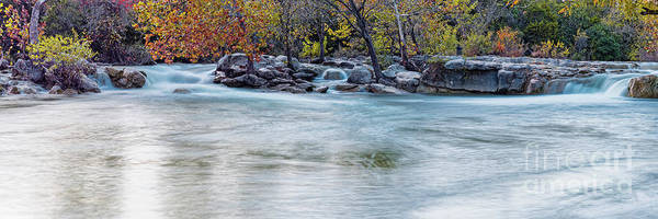 Wall Art - Photograph - Twin Falls Area At Barton Creek Greenbelt - City Of Austin Texas Hill Country by Silvio Ligutti