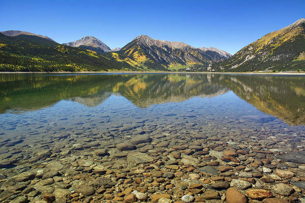 Wall Art - Photograph - Twin Lakes by Aaron Spong