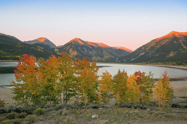 Photograph - Twin Lakes Autumn by Aaron Spong