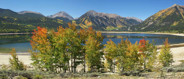 Photograph - Twin Lakes Panorama by Aaron Spong