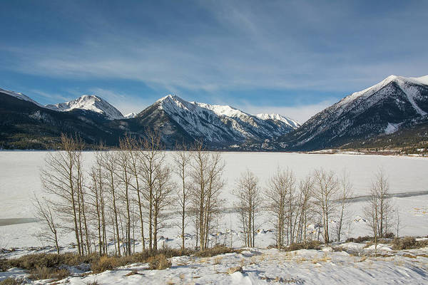 Photograph - Twin Lakes Winter by Aaron Spong
