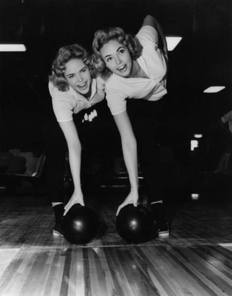 Ten Pin Bowling Wall Art - Photograph - Twin Pin Bowling by Keystone