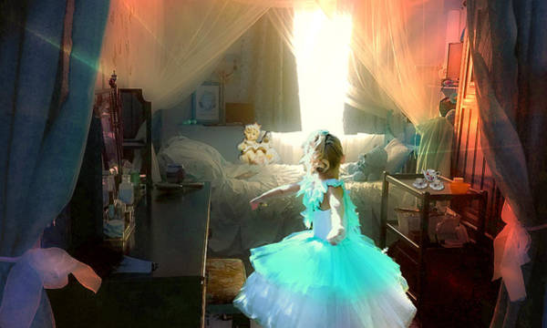 Photograph - Twirling In My Room by Alison Frank