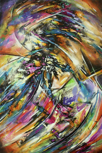 Wall Art - Painting -  Twist by Michael Lang