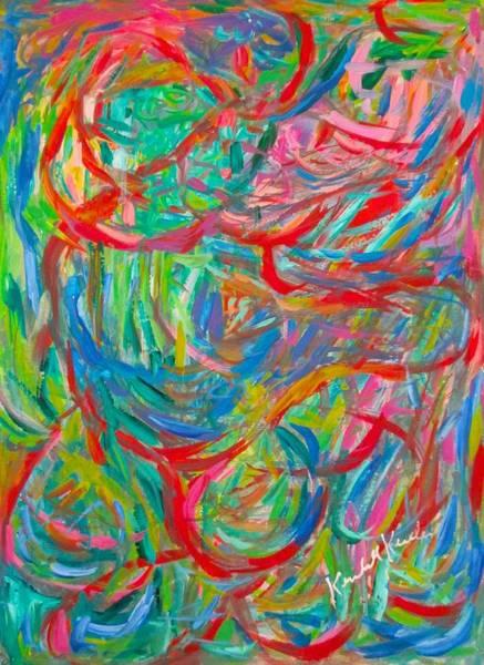 Painting - Twisters by Kendall Kessler