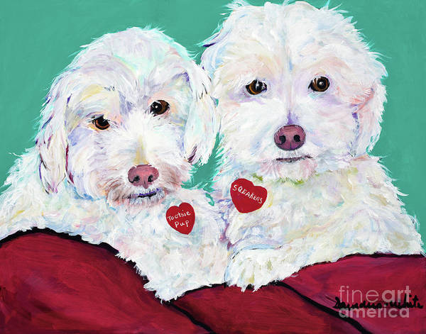Painting - Two Amigos by Pat Saunders-White